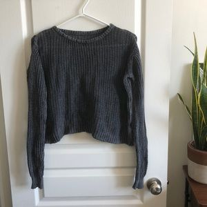 Brandy Melville knit cropped sweater